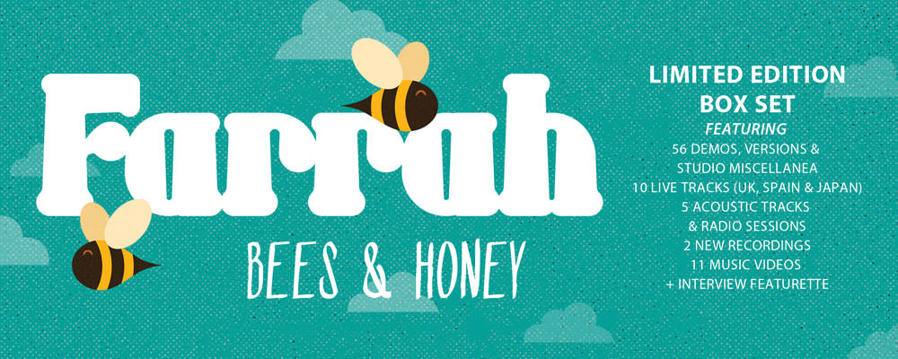Farrah box set Bees and Honey, out now on Lojinx