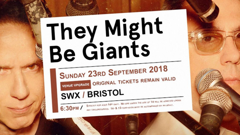 They Might Be Giants Bristol venue upgrade