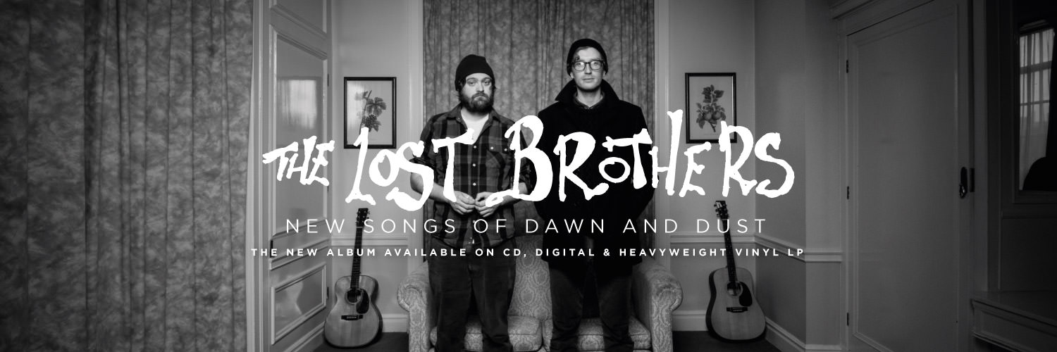 The Lost Brothers - New Songs of Dawn and Dust available on CD, digital and heavyweight vinyl LP