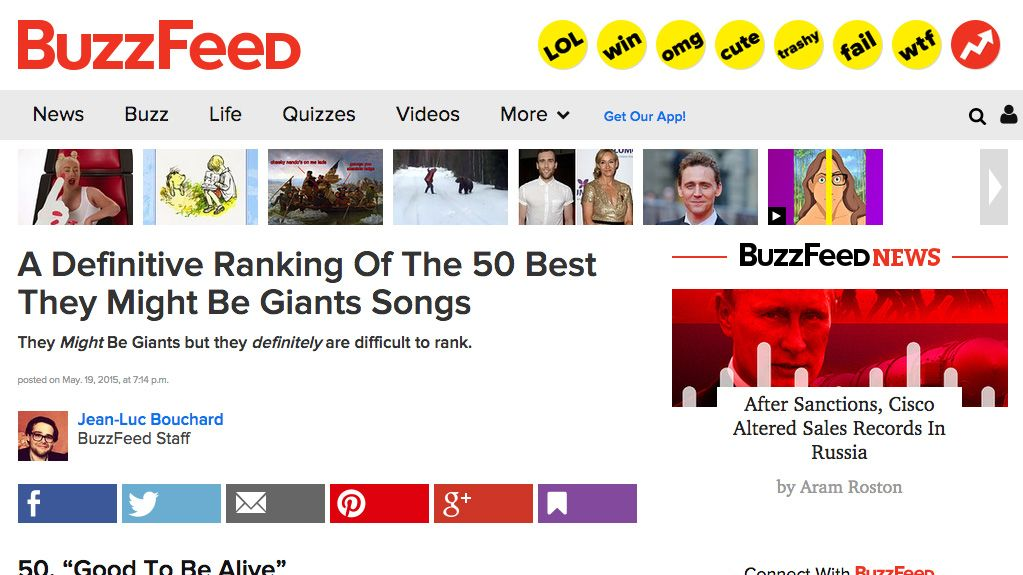 Buzzfeed A Definitive Ranking Of The 50 Best They Might Be Giants Songs