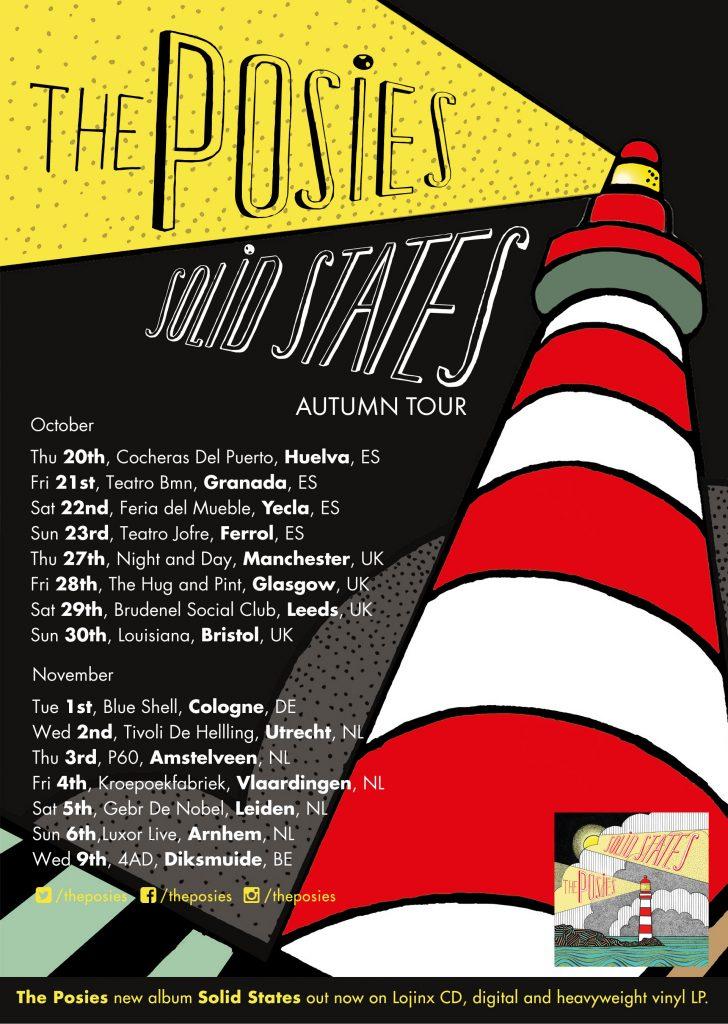 The Posies add Spain dates to Autumn European Tour