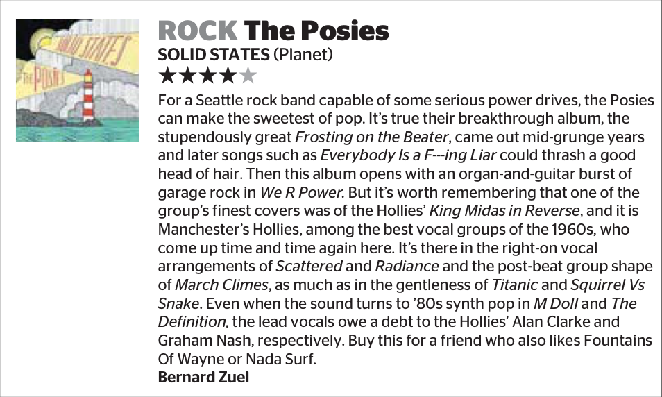 The Posies Solid States in Sydney Morning Herald, out now!