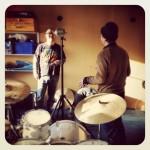 Setting up at Diversion Studios, London Bridge.