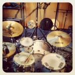 Drums kindly on loan from Sir Dana Myzer