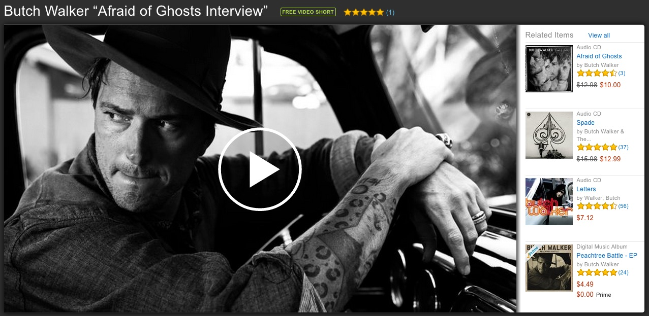 "Butch Walker ""Afraid of Ghosts Interview"""
