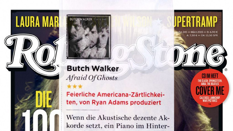 Review: Butch Walker – Afraid Of Ghosts in German Rolling Stone