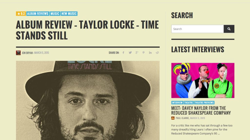 Review: Taylor Locke Time Stands Still in Backseat Mafia