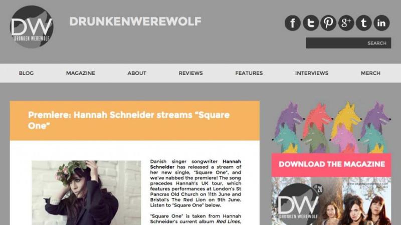 Drunken Werewolf Premiere Hannah Schneiders Square One Lojinx