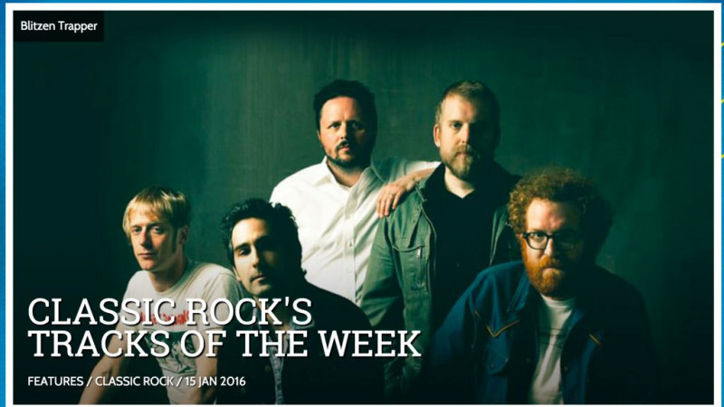 Blitzen Trapper Classic Rock's Track of the Week