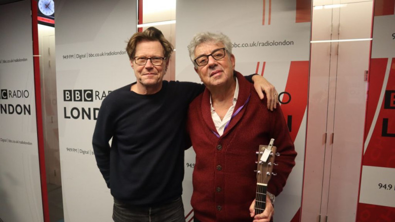 Graham Gouldman on BBC Radio London with Robert Elms