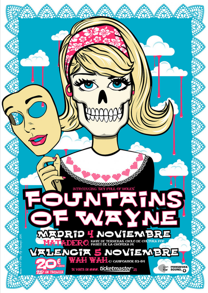 Fountains Of Wayne in Madrid and Valencia
