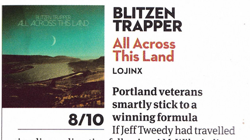 Blitzen Trapper reviewed in Uncut Magazine