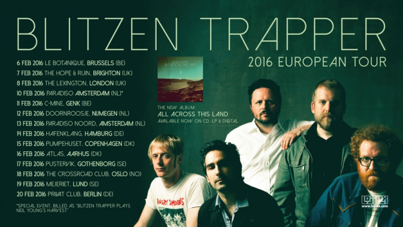 Blitzen Trapper 2016 European Tour Dates Announced