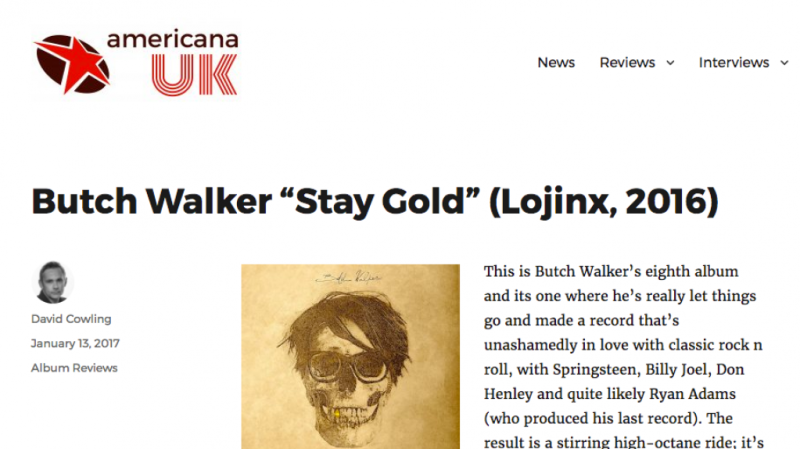 Americana UK review Stay Gold
