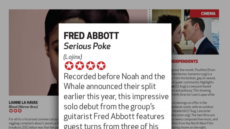 Fred Abbott Big Issue review