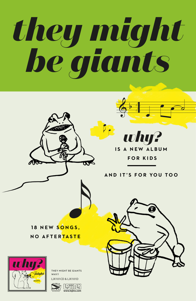 They Might Be Giants – Why?