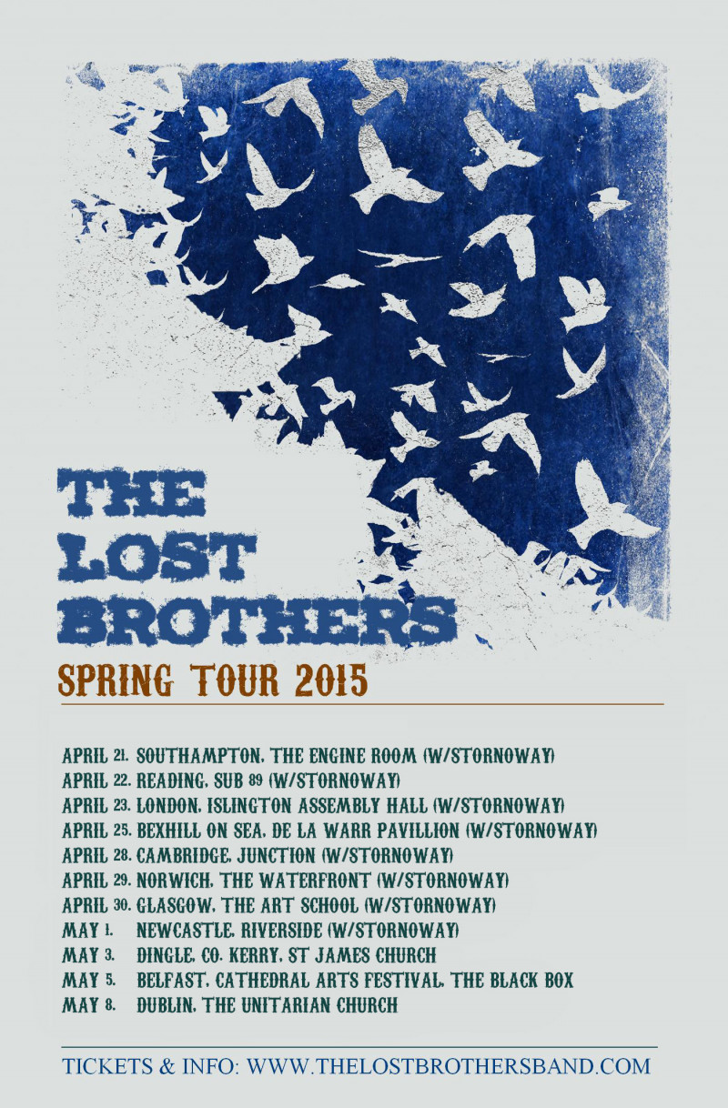 The Lost Brothers April & May tour dates