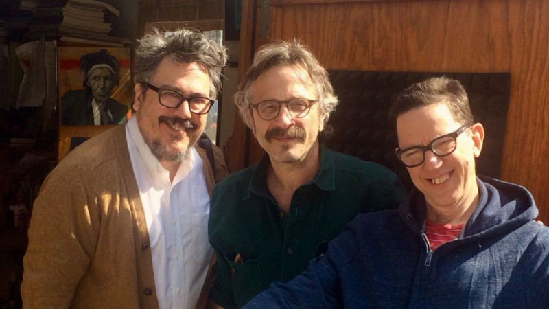TMBG on WTF Marc Maron Podcast