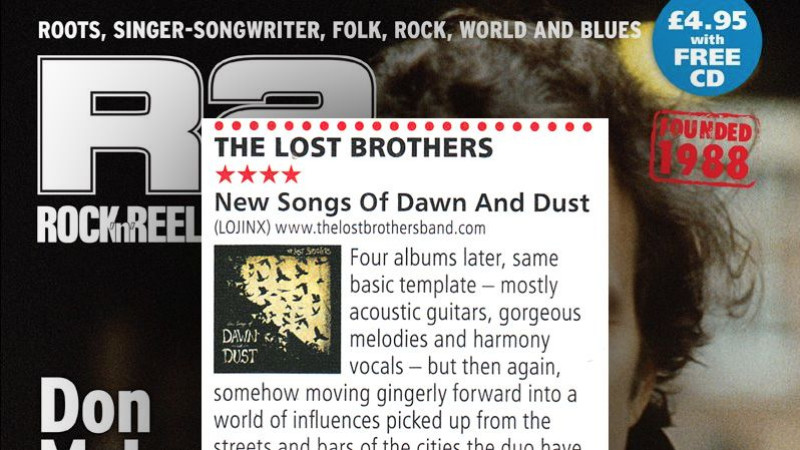 Review: The Lost Brothers in R2 Magazine