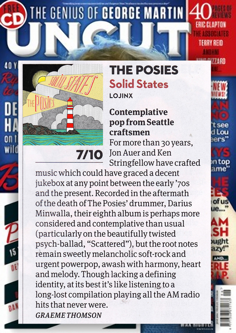 The Posies reviewed in Uncut Magazine