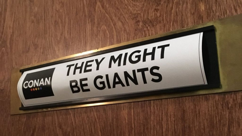 Watch They Might Be Giants live on Conan O'Brien