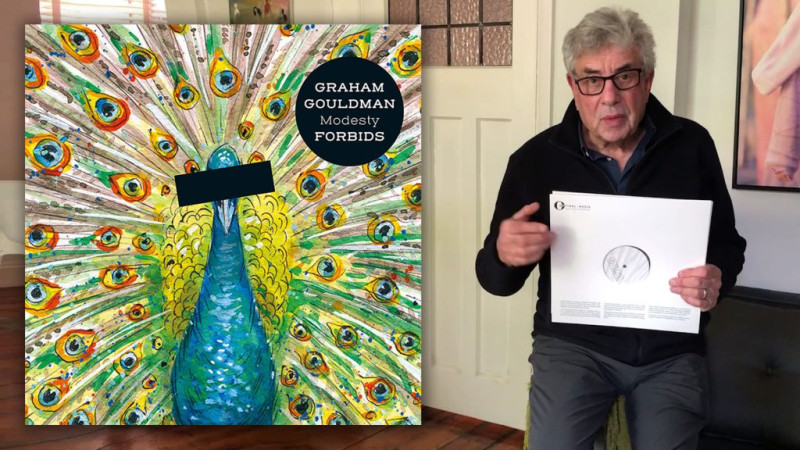 Graham Gouldman vinyl test pressing competition