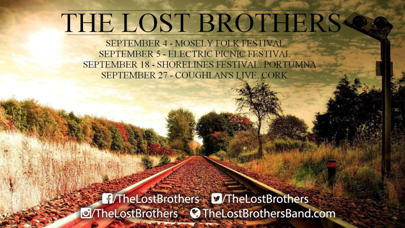 The Lost Brothers September Tour Dates