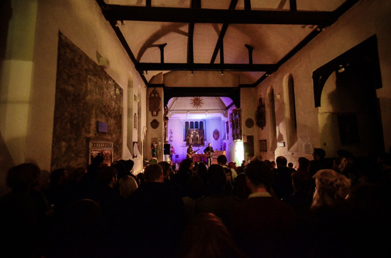 The Lost Brothers at St. Pancras Old Church