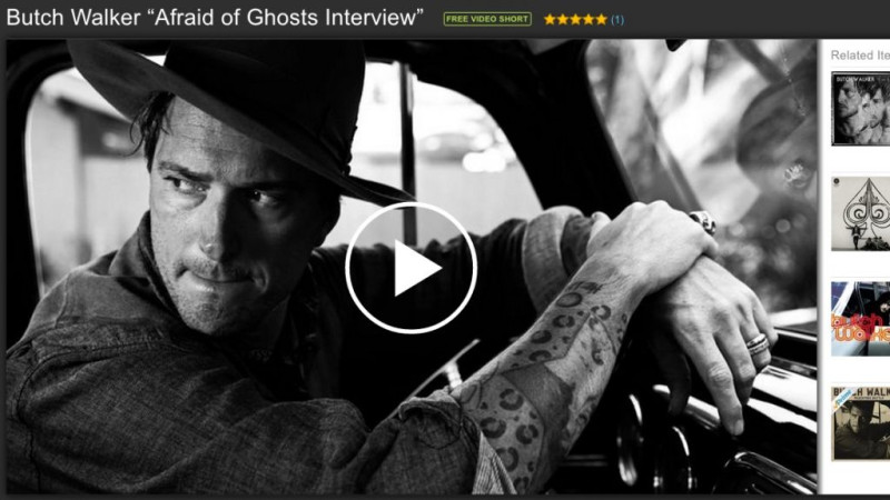 Butch Walker Afraid of Ghosts Interview with Amazon
