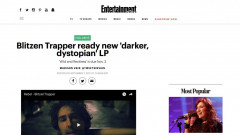 Blitzen Trapper premiere at Entertainment Weekly